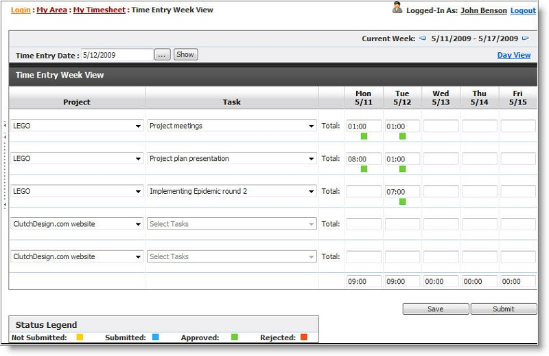 Project Timesheet Software 8.5.1